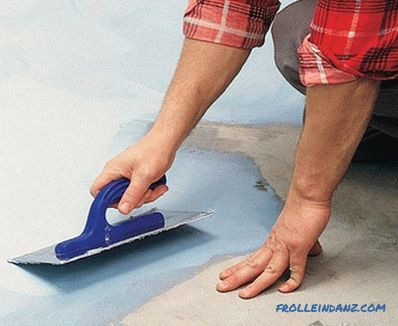 How to make a waterproofing floor