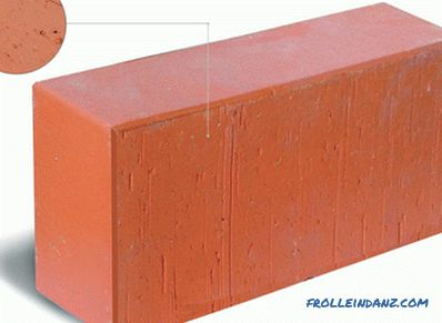 Ceramic brick - technical specifications, dimensions, types, comparisons + Video