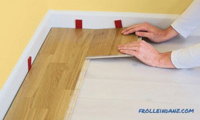 How to properly lay laminate instruction with pictures + Video