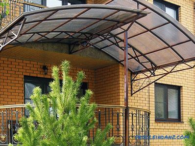 How to make a canopy of polycarbonate