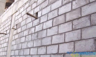 Foam concrete blocks - characteristics, advantages and disadvantages + Video