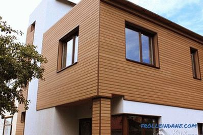 How to decorate the facade of the house - materials and technologies of facade claddings (+ photos)