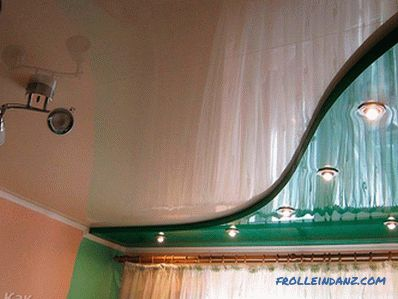 Two-level suspended ceiling do it yourself