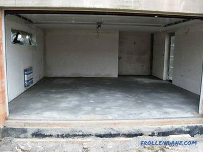 How to cover the floor in the garage