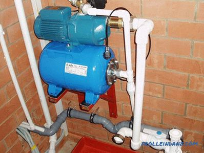 How to increase the water pressure in the water supply