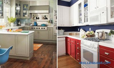How to make a color combination in the interior of the kitchen + 21 photo sample
