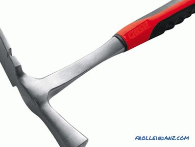 Types of hammers, their purpose and application