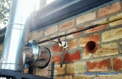 Where to install a gas boiler - installation of a gas boiler
