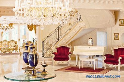 Empire style in the interior - creating design and photo ideas