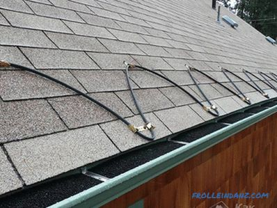 Installation of heating gutters - how to lay the heating system