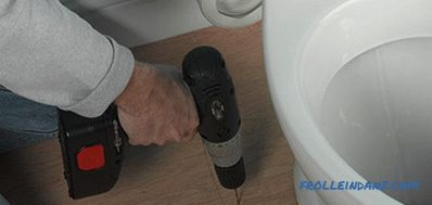 How to install a toilet with their own hands