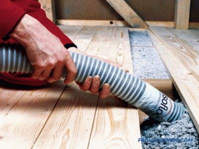 How to insulate the old floor in a private house