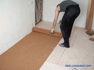 How to choose a substrate under the laminate for the apartment