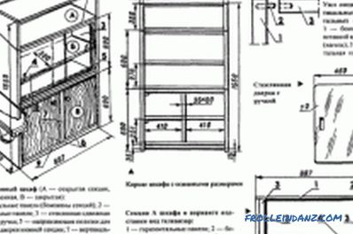 Assemble the cabinet with their own hands: the preparation of elements, the assembly process