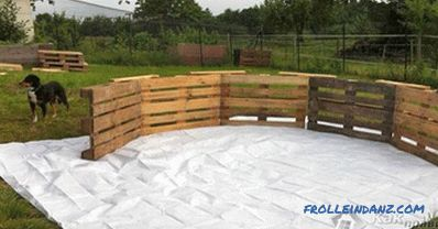 Wooden pool do it yourself - how to build