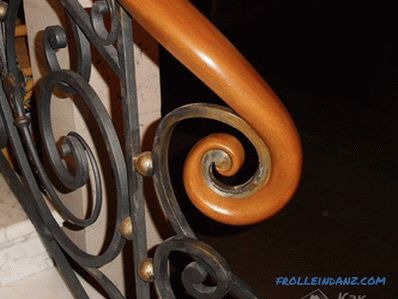 How to make a railing for the stairs