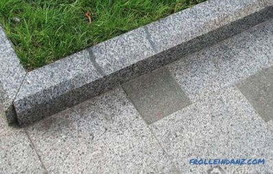 How to install a sidewalk curb - installing a curb