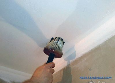 How to primer the ceiling - primer ceiling