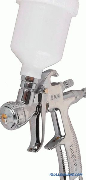 Types of spray guns for painting - all existing types