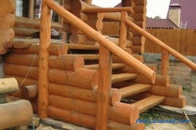Wooden porch do it yourself: materials, construction stages (photo)
