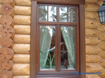 Do-it-yourself installation of windows in a wooden house: work technology (video)