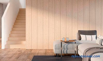 How to sheathe the walls in a wooden house indoors