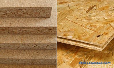 Chipboard or OSB - which is better detailed comparison