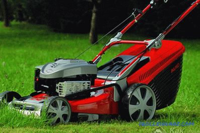How to choose a lawnmower - lawnmower selection