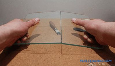 How to cut glass with a glass cutter