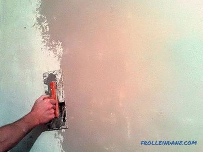 Plaster walls without beacons with their own hands