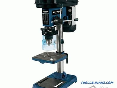 How to choose a drilling machine - comparison of drilling machines