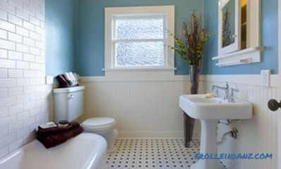 How to start repairs in the bathroom