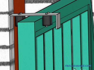 Do-it-yourself installation of sliding gates