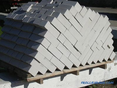 How to lay a silicate brick - laying walls of silicate bricks