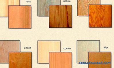 wood selection (photos and videos)