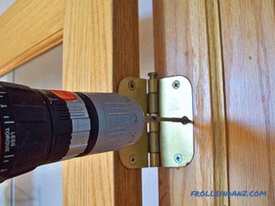 How to hang the door - how to install the door