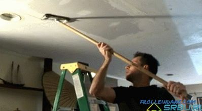 Puttying a ceiling with your own hands - step by step instructions and practical tips + Video