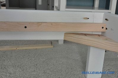 How to make a bed frame with your own hands from wood