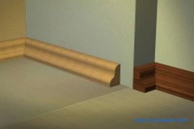 Installing wooden skirting do it yourself