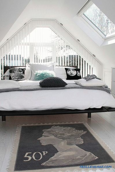 Scandinavian style bedroom - relaxing and chic design, 56 photo ideas
