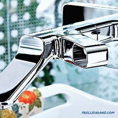 How to choose a bathroom faucet with shower