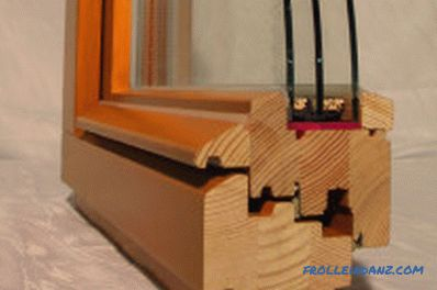 Wooden double-glazed windows do it yourself: making and assembling a structure