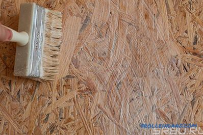 How to paint OSB plate outside or indoors