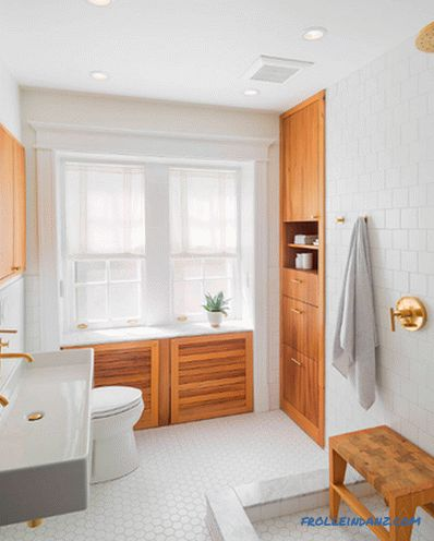 Scandinavian style bathroom - design rules and photo ideas