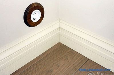 How to choose a plinth to laminate