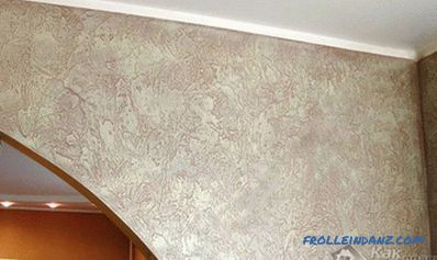 How to paint decorative plaster - painting plaster