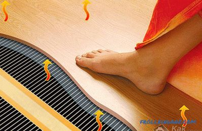 How to choose an electric floor heating under the laminate, under the tile
