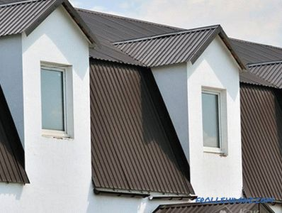 How to cover the roof of the house - the choice of roofing material