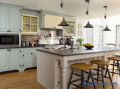 Provence-style kitchen interior design: secrets and photo ideas