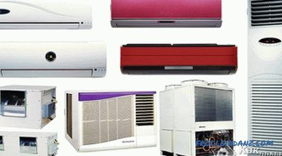 The device and the principle of operation of the air conditioner